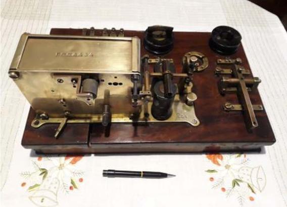 Telegrafo Antiguo Ferrocarril 1880