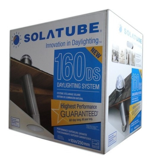 Original Domo Solar Solatube® 160 (base Inclinada)