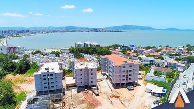 Acrc Imóveis - Empreendimento Na Praia De São Jose, Em Localização Privilegiada, Com 2 Dormitórios Sendo 01 Suíte E 01 Vaga De Garagem - Ap01852 - 33122351