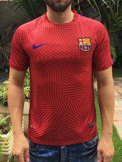 Camisa Treino Barcelona Vinho Pronta Entrega