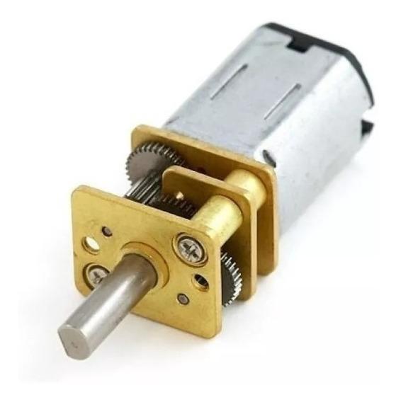 Motor Pololu Micro Motorreductor 35mm 500rpm 50:1