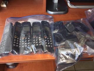 Sistema 5 Teléfonos Inalámbricos Panasonic Kx-tg6632