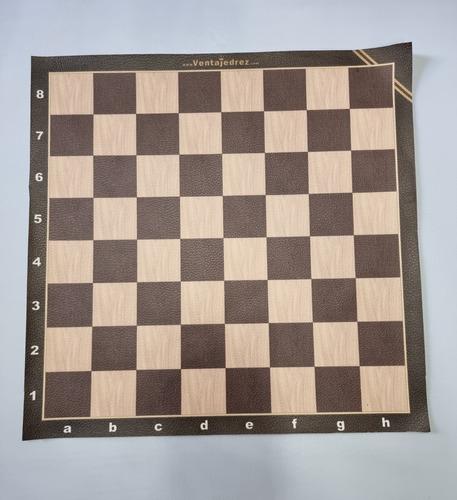 Tablero De Cuerina Vip 30 X 30 Con Escaque De 3 X 3