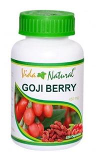 Goji Berry Bote 100 Cáps 450 Mg/cap Adelgazante Envio Gratis