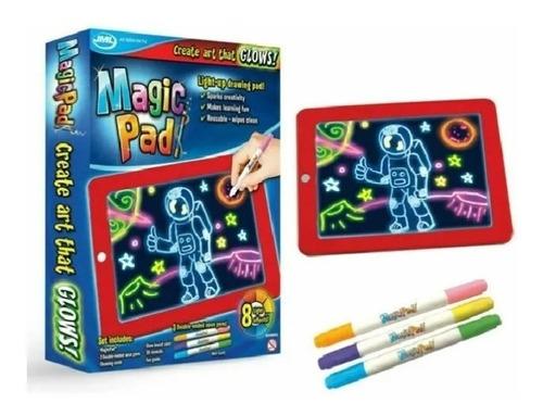 Tableta De Dibujo Con Luz Led Magic Pad