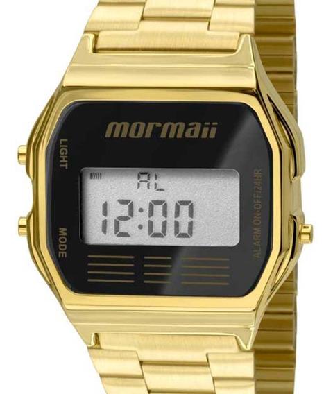 Relógio Mormaii Feminino Vintage Digital Mojh02ab/4p Dourado