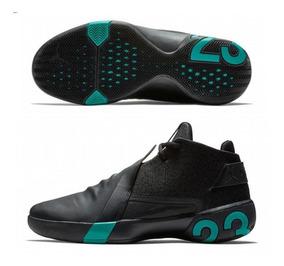 Tenis Nike Jordan Ultrafly 3 Black And Green