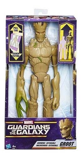 Groot Extensible - Guardianes De La Galaxia, Hasbro