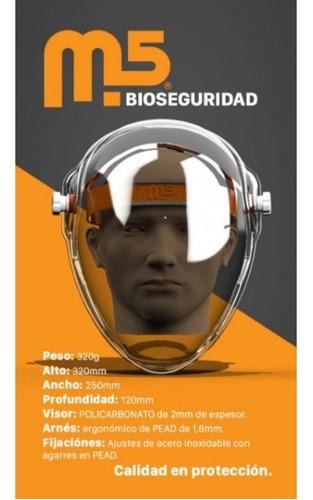 Mascara Protector Facial Sanitaria Burbuja Acrílica Medicos