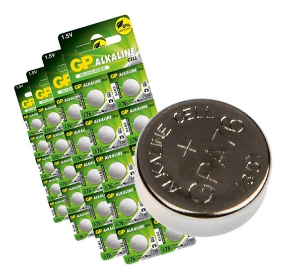 50 Bateria Alcalina A76f Lr44 Controles