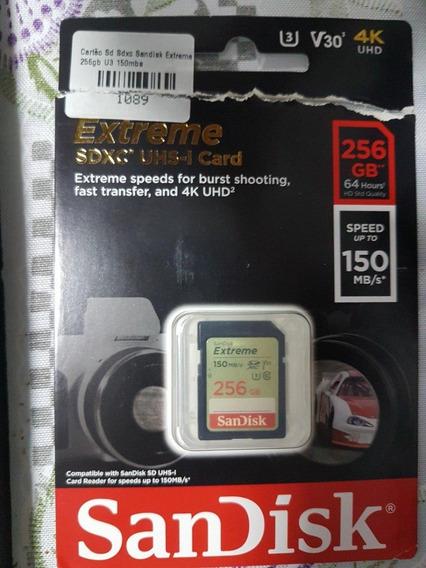 Cartão Dandisk Sdxc Uhs-i 265gb