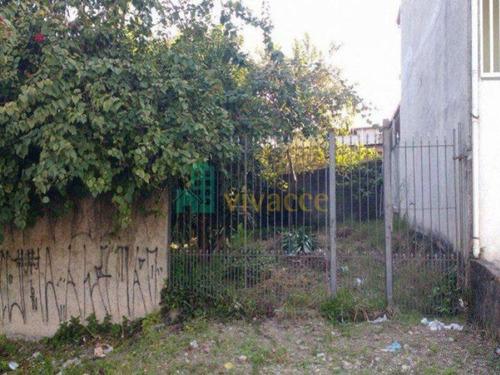 Imagem 1 de 6 de Terreno À Venda, 184 M² Por R$ 205.000,00 - Jardim Pedro José Nunes - São Paulo/sp - Te0021