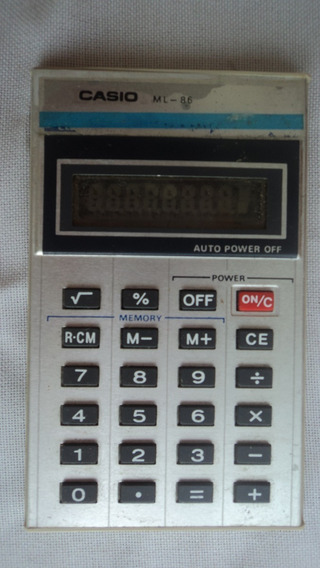 Mini Calculadora Cassio Ml-86