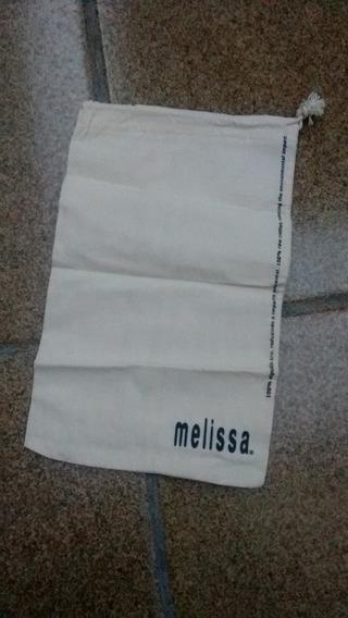 Saco Melissa Pequeno Nude Original Novo