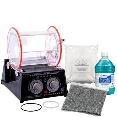 Tamboreador Rola 3 Litros +1kg Lentilha +1kg B5 +1l Shampoo