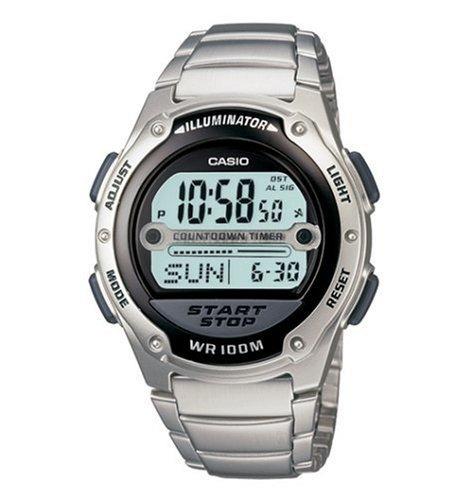 Hombre De Reloj Casio Árbitro W756d Para 1av Temporizador Yyf7mI6gbv