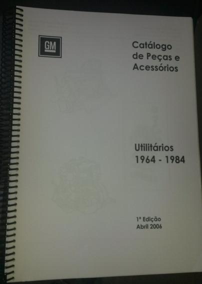 Catálogo Peças Chevrolet A10 C10 C14 Veraneio - Impresso