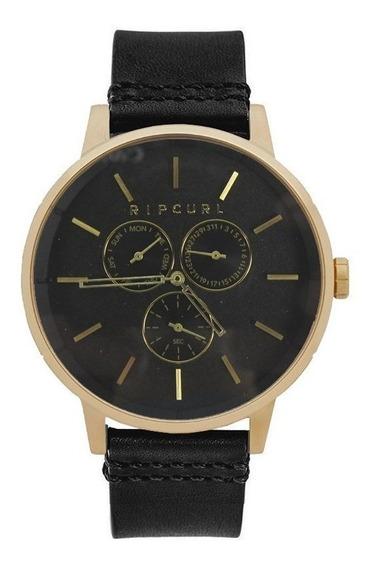 Relógio Rip Curl Detroit Multieye Gold Leather