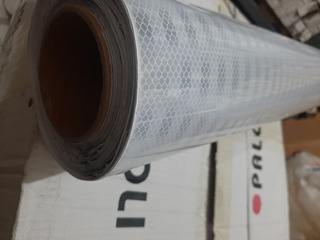 Rollo Vinil Reflec. Blanco P/fondo Com.prismatic 1.22x12.50m