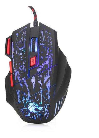 Hxsj H300 Usb Wired Gaming Mouse Ergonômico Ratos Com Luz De