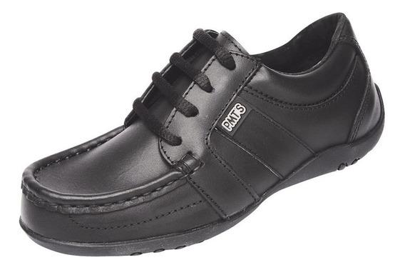 Zapato Plumitas De Cuero Escolar Art. 3797 Del 27 Al 33