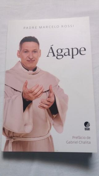 Livro Agape - Padre Marcelo Rossi - Ótimo Estado