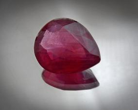 Rubi Natural Sangue De Pombo 12,5x10.5mm