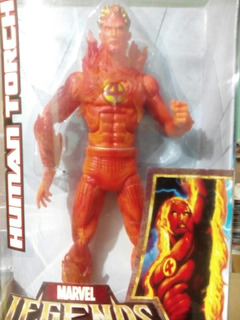Marvel Legends Icons Human Torch 12