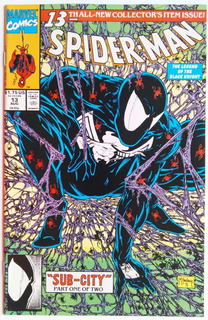Spiderman 13 (marvel 1991) Todd Mcfarlane.direct Edition.