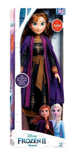 Imagen 1 de 9 de Frozen Muñecas Gigantes 55cm Anna Elsa Juego Disney Original