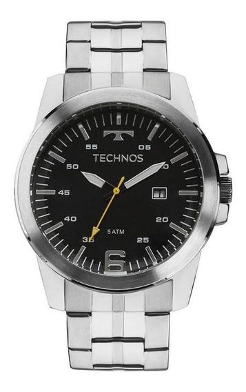 Relógio Technos Masculino Prata Mod. 2117lag1a