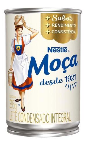 Leite Condensado Moça Nestlé Lata 395g
