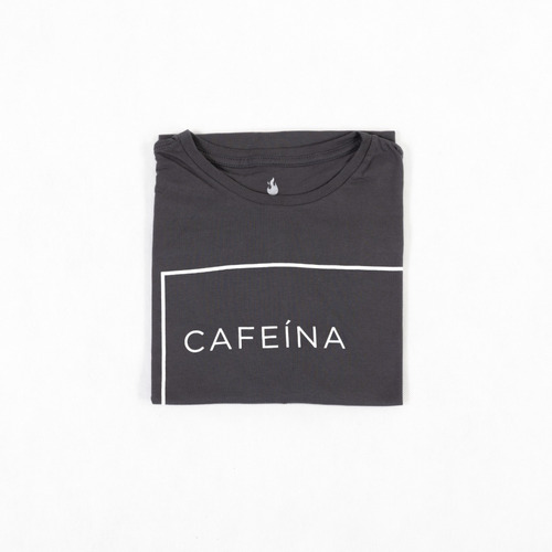 Camiseta Cafeína - 100% Algodão - Unissex - Use Café