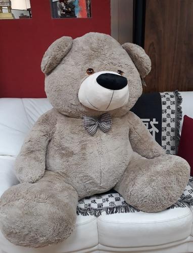 Urso Pelúcia Gigante 130cm Big Tedy 1,3 M Presente Romântico