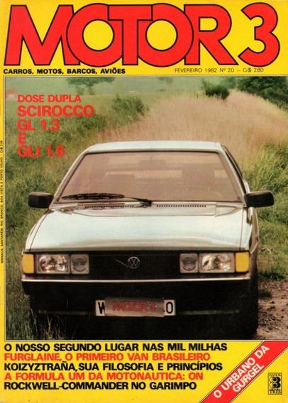 Motor 3 N°20 Vw Scirocco Furglaine Kawasaki 550 Gurgel Xef