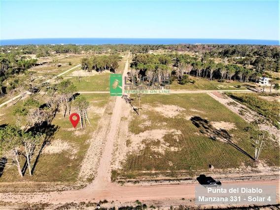 Terreno En Cuotas En Punta Del Diablo