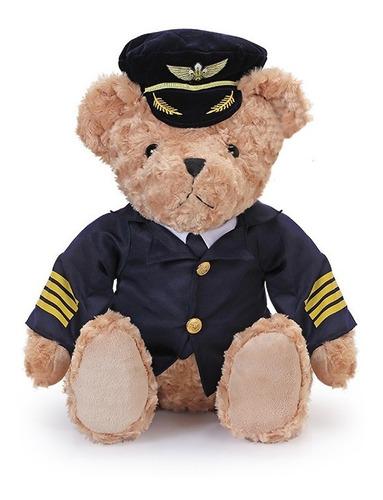 Oso Piloto Captitan Teddy