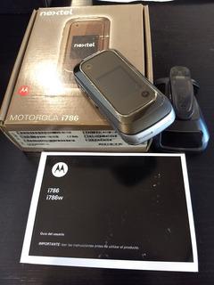 Teléfono Motorola I786 Nextel Completo Dueño Impecable