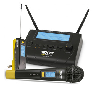 Microfono Inalambrico Skp Audio Multiset-iii Guitarra 101db