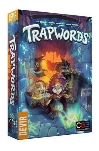 Juego De Mesa - Trapwords - Xion Store