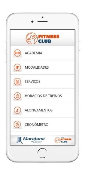 Aplicativo Para Acadêmias Android E Ios