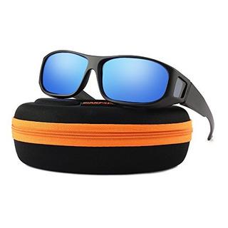 Desgaste Unisex Sobre Gafas De Sol Graduadas Ajuste Polariza