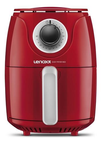Fritadeira Elétrica Sem Óleo Lenoxx Pfr 905 2.5l Vermelha 127v