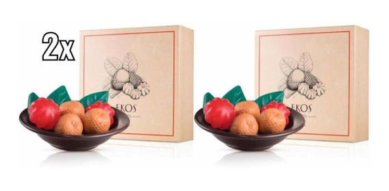 2x Presente Natura Ekos Sabonetes - Produto Original