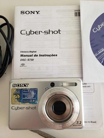 Câmera Digital Sony Cyber-shot Dsc-s730