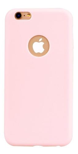 Protector Tpu Ultra Slim Rosa iPhone 5 5s Se 6 6p 7 7p 8 8p