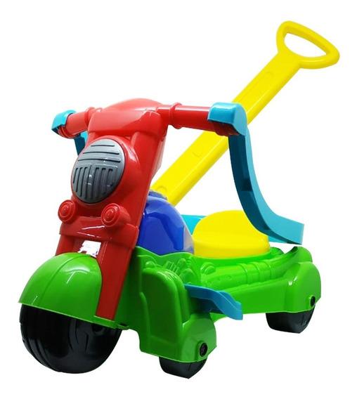 Triciclo Velotrol Infantil Bebe Motoca Verde Magic Toys