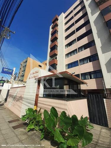 Apartamento Para Venda Em Natal, Lagoa Nova, 3 Dormitórios, 1 Suíte, 3 Banheiros, 2 Vagas - Ka 1274_2-1157916