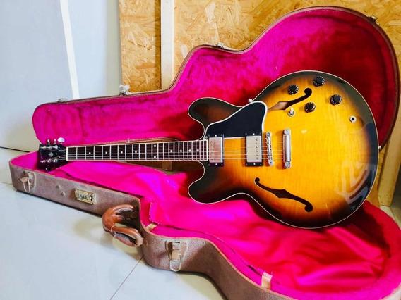 Gibson Es 335 Guitarra Usa 2001 Sunburst