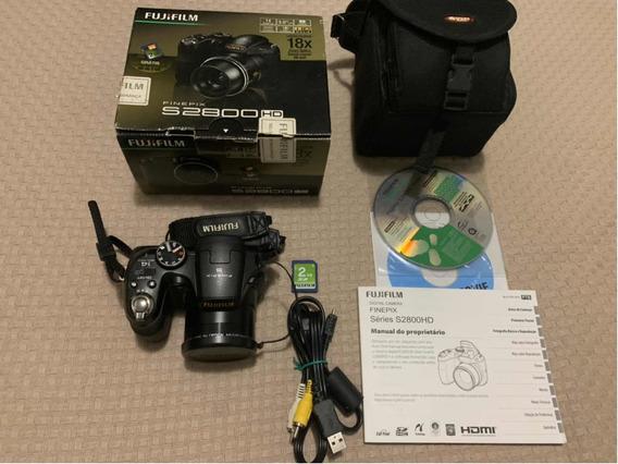 Câmera Fujifilm Finepix S2800hd